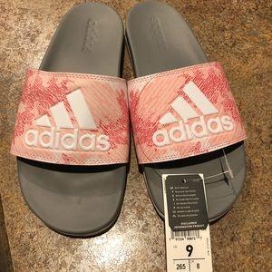 Adidas Adilette comfort slide flip flop sandals